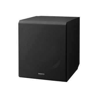 sony sa cs9 caisson de basses achat prix fnac. Black Bedroom Furniture Sets. Home Design Ideas