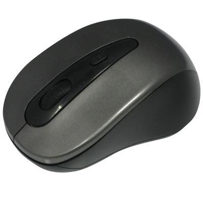 Souris sans fil gris 1000 Dpi - Mini dongle USB - WAYTEX