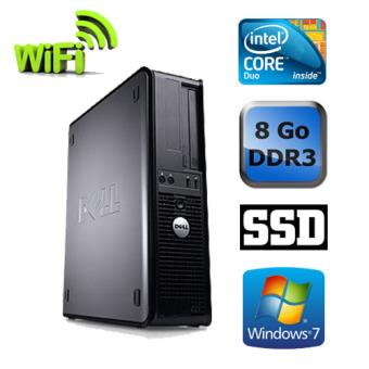 unit centrale dell optiplex 780 desktop gris intel. Black Bedroom Furniture Sets. Home Design Ideas