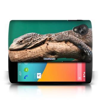 Coque de Stuff4 / Coque pour LG Google Nexus 5/D821 / Lézard Design