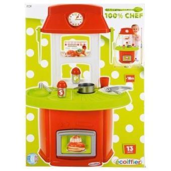 Cuisiniere dinette enfant fille jouet chef 13 pcs cuisine jeu eveil achat prix fnac - Jeux enfant cuisine ...