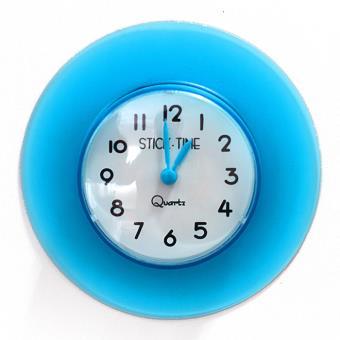 horloge de salle de bain tanche ventouse achat prix fnac - Horloge Salle De Bain Ventouse
