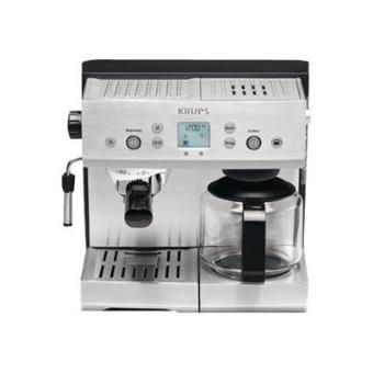 krups yy8204fd machine caf avec machine filtre et buse vapeur cappuccino 15 bar. Black Bedroom Furniture Sets. Home Design Ideas