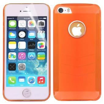 coque de protection pour iphone 5 et 5s orange achat prix fnac. Black Bedroom Furniture Sets. Home Design Ideas