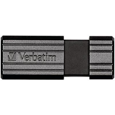 Verbatim Pinstripe Clé USB Drive 2.0 16 Go Noir Fabricant : VERBATIM CORPORATION Couleur : BLACK