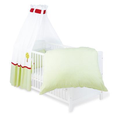 Pinolino - Parure lit bébé - 4 pièces - 120x60cm ou 140x70cm Vent d´été pour 201€