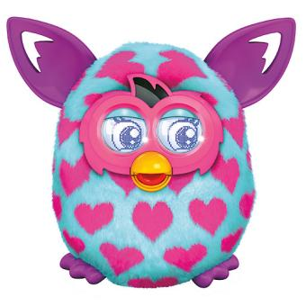 mp Hasbro A Furby Boom Pink Hearts Version Anglaise w