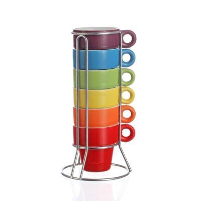 Image du produit Tasses expresso multicolores (par 6)