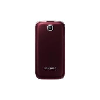 samsung c3590 t l phone portable d bloqu 3g ecran 2 4 pouces 1 mo simple sim wine red gt. Black Bedroom Furniture Sets. Home Design Ideas