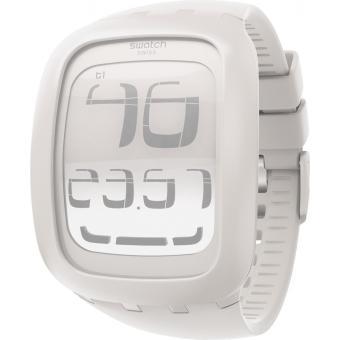 montre swatch touch blanche surw100 montre tactile. Black Bedroom Furniture Sets. Home Design Ideas