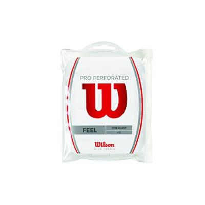 Wilson Griffband Pro Overgrip Perforé 12 Pack Blanc Wrz4006wh pour 36€