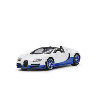 voiture radiocommand e bugatti veyron blanche et bleue 1 14 achat prix fnac. Black Bedroom Furniture Sets. Home Design Ideas