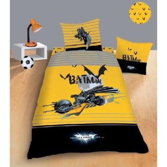 parure de lit batman batmobile 100 coton top prix fnac. Black Bedroom Furniture Sets. Home Design Ideas