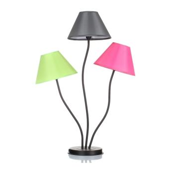 lampe 3 t tes color e triple clairage luminaire d coratif d 39 int rieur achat prix fnac. Black Bedroom Furniture Sets. Home Design Ideas