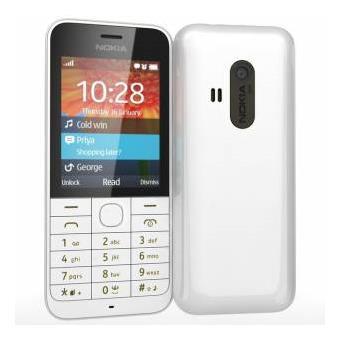 mp Nokia  telephone portable debloque g ecran pouces mo double sim blanc a w