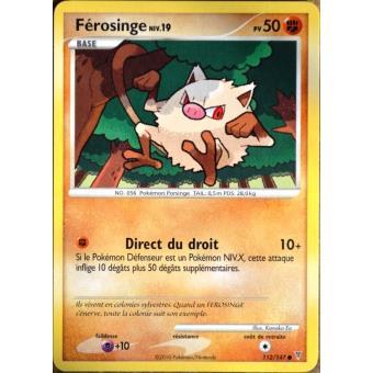 Carte pok mon 112 147 f rosinge 50 pv s rie platine vs neuf fr achat prix fnac - Pokemon ferosinge ...