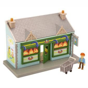 sam le pompier playset le supermarch b timent et figurine achat prix fnac. Black Bedroom Furniture Sets. Home Design Ideas