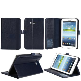 Housse Cuir Style luxe Ultra Slim tablette Samsung Galaxy Tab 3 7.0