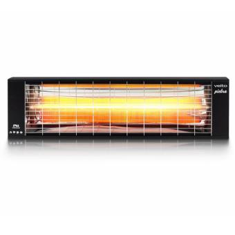 Chauffage infrarouge ext rieur et int rieur pietra 2500w for Chauffage infrarouge interieur