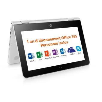 pc ultra portable hp stream x360 11 aa004nf 11 6 tactile ordinateur ultra portable achat. Black Bedroom Furniture Sets. Home Design Ideas