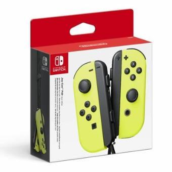 paire de manettes nintendo switch joy con jaune fluo accessoire console de jeux achat prix. Black Bedroom Furniture Sets. Home Design Ideas