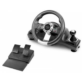 volant subsonic drive pro sport pour ps4 xbox one et ps3 accessoire console de jeux achat. Black Bedroom Furniture Sets. Home Design Ideas
