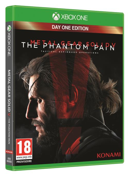 Metal Gear Solid 5 : The Phantom Pain Day One Edition Xbox One - Xbox One