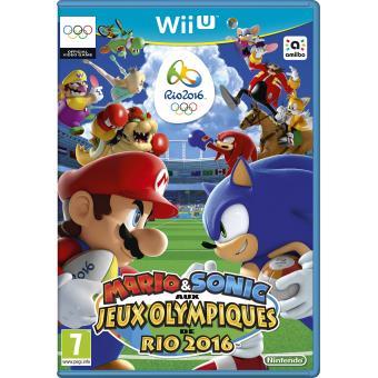 Mario sonic aux jeux olympiques de rio 2016 wii u sur - Comment connecter les manettes wii a la console ...