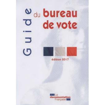 guide du bureau de vote d roulement des op rations lectorales lors des lections au suffrage. Black Bedroom Furniture Sets. Home Design Ideas