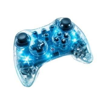 Manette afterglow sans fil blue light pour wii et wii u - Comment connecter manette wii a la console ...