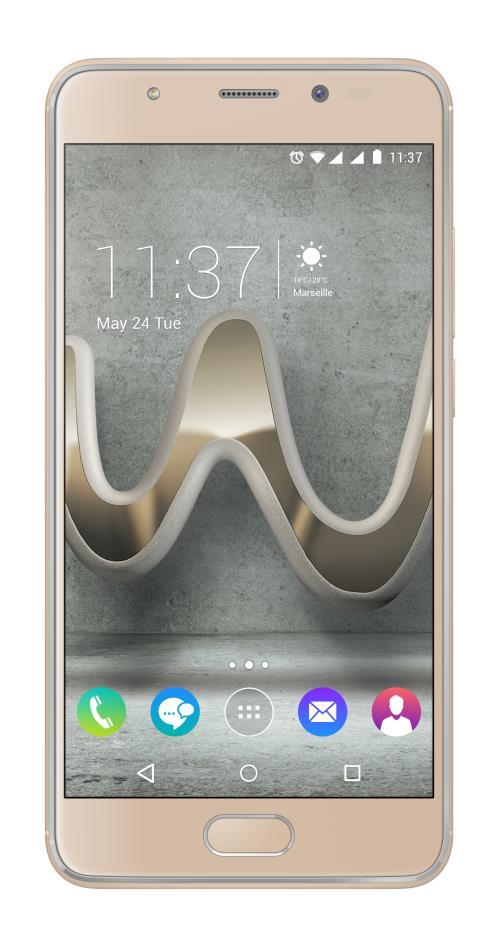 Smartphone Wiko U Feel Prime 32 Go Double SIM Or