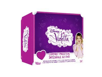 Coffret Prestige Violetta Intégrale 62 DVD Inclus 3 posters + 3 cartes postales