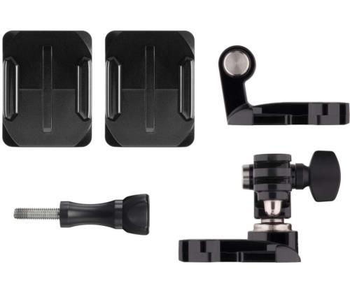 Fixation frontale et latérale GoPro pour casque