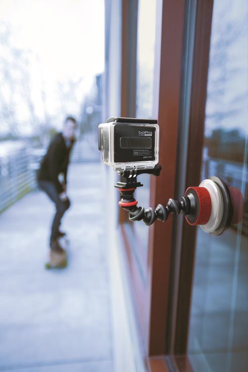 Kit Joby Fixation et Bras Flexible GorillaPod pour GoPro