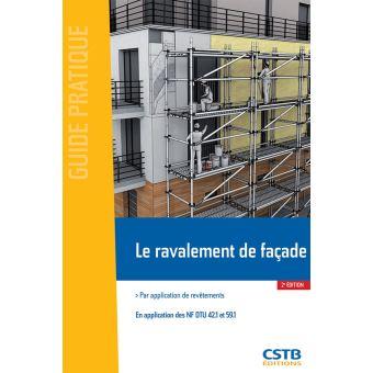 Le ravalement de fa ade broch collectif achat livre - Ravalement de facade prix ...