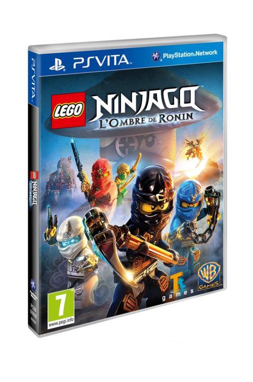 Lego Ninjago L'ombre de Ronin PS Vita - PS Vita