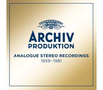 Archiv Produktion Analogue Recordings 1959-1981 Coffret Edition limitée