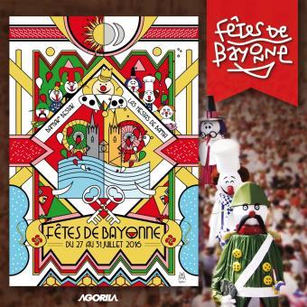 f tes de bayonne 2016 various cd album achat prix fnac. Black Bedroom Furniture Sets. Home Design Ideas