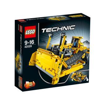 lego technic 42028 le bulldozer lego achat prix fnac. Black Bedroom Furniture Sets. Home Design Ideas