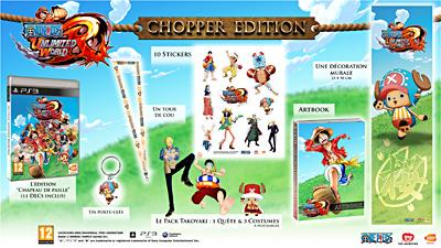 One Piece Unlimited World Red Edition Collector Chopper PS3 - PlayStation 3