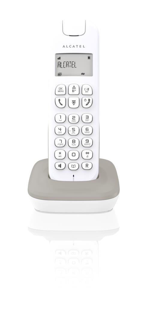 Téléphone Alcatel D185 Gris