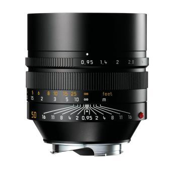 Objectif hybride Leica Noctilux M f/0.95 50 mm Noir Objectif à