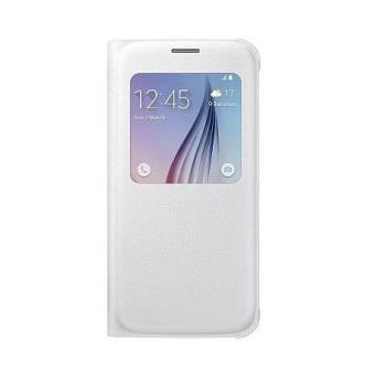 Coque Samsung S View Cover pour Galaxy Blanc a w