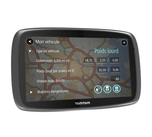 GPS TomTom Trucker 6000 Cartographie à vie 48 Pays