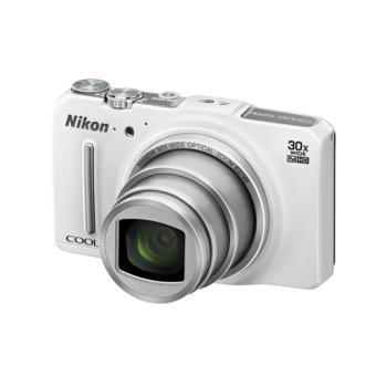 compact nikon coolpix s9700 blanc appareil photo. Black Bedroom Furniture Sets. Home Design Ideas