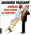 Chirac bon pour le service