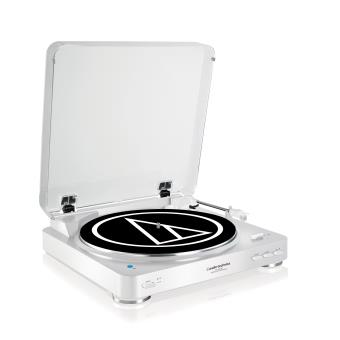 Platine Vinyle Audio Technica Lp60 Bluetooth Blanc