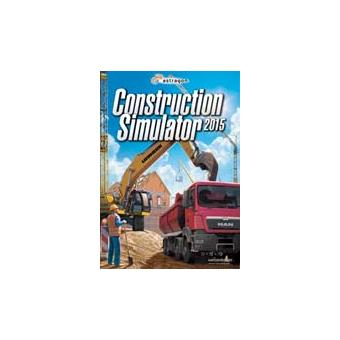 construction simulator 2015 pc sur pc jeux vid o achat prix fnac. Black Bedroom Furniture Sets. Home Design Ideas