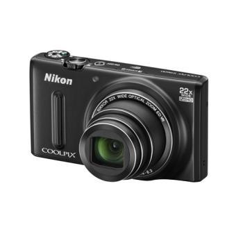 compact nikon coolpix s9600 noir appareil photo. Black Bedroom Furniture Sets. Home Design Ideas