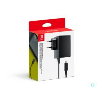 adaptateur secteur nintendo switch accessoire console de jeux achat prix fnac. Black Bedroom Furniture Sets. Home Design Ideas